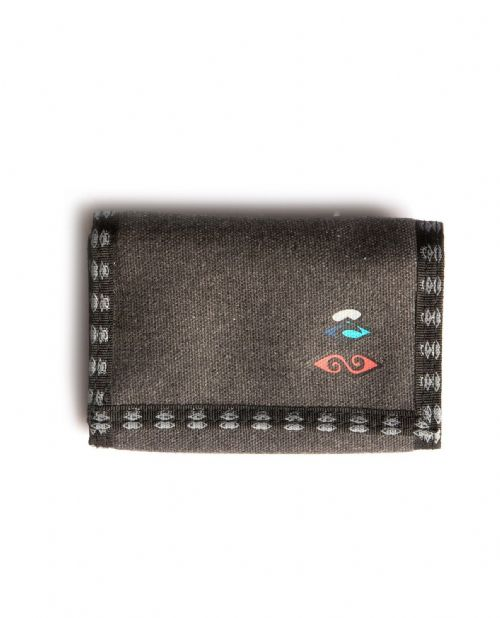 RIP CURL MENS WALLET.RETRO SURF TRIFOLD HOOK LOOP MONEY CARD COIN PURSE 8S Z1 90